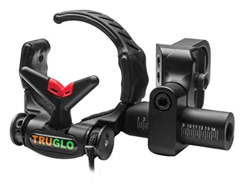TRUGLO Down-Draft Drop-Away Arrow Rest Black