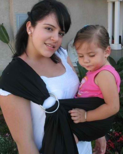Cotton Baby Ring Sling Carrier - 7