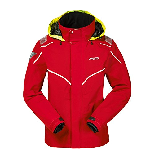 Br1 Sb1227 Inshore Red In white Musto Jacket g1xUPWq
