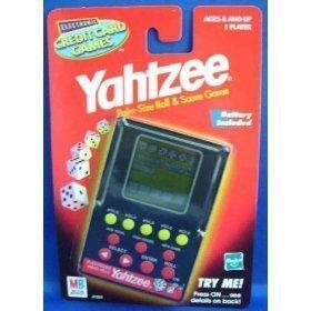 Yahtzee Credit Card Game (Yahtzee Electronic)