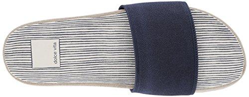 Zapato Vita Mujeres Talla Destalonado Dolce Elastic Navy E6qwFTnp
