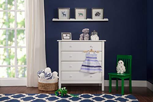 Davinci Jayden 4-Drawer Dresser, White ()