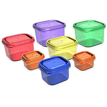 Portion Control Containers by Beachbody - BPA free - 7 Piece Kit