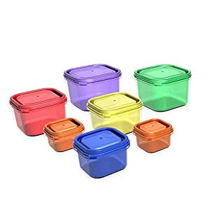 OFFICIAL 21 Day Fix Portion Control Containers - 7 Piece Kit