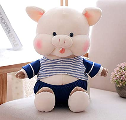 WYBL Pareja sentada Pig Suave Juguetes de Felpa Halloween ...
