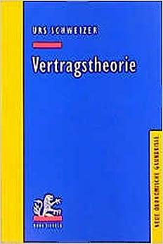 Book Vertragstheorie (Neue Okonomische Grundrisse)