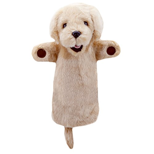 The Puppet Company Long-Sleeves Yellow Labrador Hand Puppet ()
