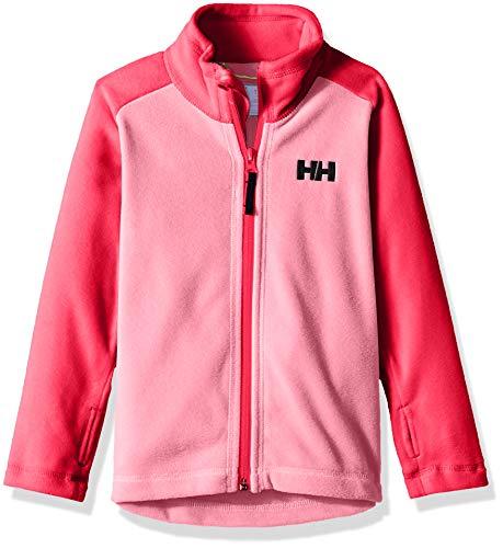 Helly Hansen K Daybreaker 2.0 Fleece Jacket, Strawberry Pink, Size 9