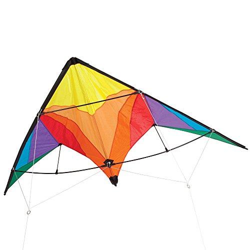 Bits and Pieces - Rainbow Delta Stunt Kite - Giant 80