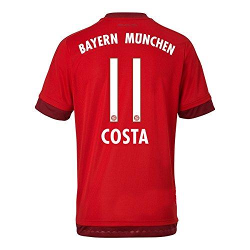 コールド心理学抗生物質Adidas COSTA #11 Bayern Munich Home Jersey 2015-16(Authentic name & number)/サッカーユニフォーム FCバイエルンミュンヘン ホーム用 コスタ