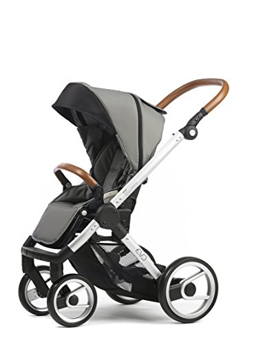 Mutsy Evo Urban Nomad Stroller, Silver Chassis, Light Grey by Mutsy
