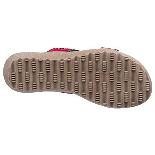 Multi ladies amp; Foster Fleet Summer Sandals Womens Strap Red Parisio qtX1tK