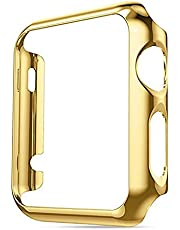Case Compatible for Apple Watch 40 44mm Series 4 Slim PC iWatch Electroplate Cover