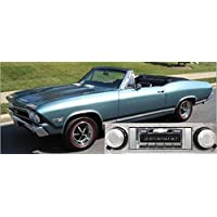 1968 Chevelle Malibu USA-630 II High Power 300 watt AM FM Car Stereo/Radio with iPod Docking Cable