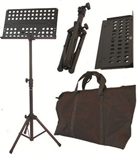 Audio2000'S AST4381 Heavy-Duty Portable Sheet Music Stand for Orchestra