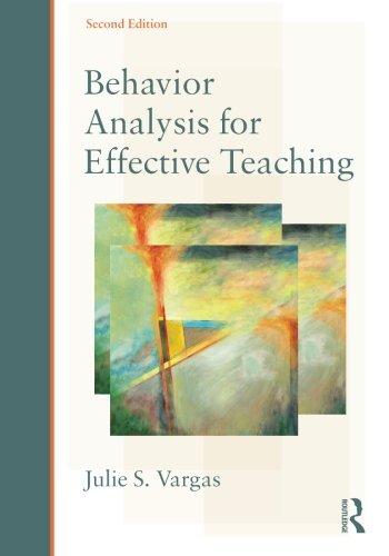 Behavior Analysis F/Effective Teaching