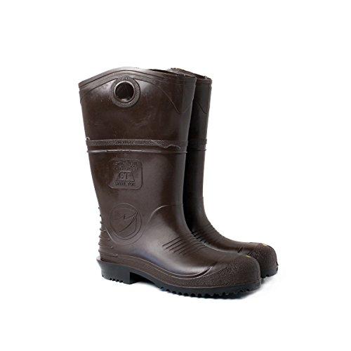 Ultraport 440137-12 Durapro Pvc-laarzen, Zachte Neus, 15, Maat 12, Blauwbruin