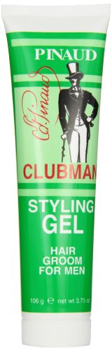 [Clubman Pinaud Styling Gel Hair Groom for Men, 3.75-Ounce] (Men Hair Styling Gel)