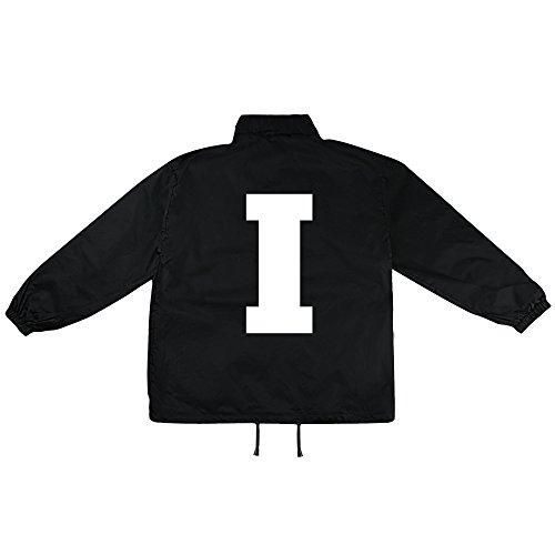 I Buchstabe Motiv auf Windbreaker, Jacke, Regenjacke, Übergangsjacke, stylisches Modeaccessoire für HERREN, viele Sprüche und Designs
