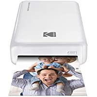 Kodak – Instant Mini 2 HD Wireless Photo Printer and Mobile with Patented 4pass Printing Technology – Works with iOS and Android – White