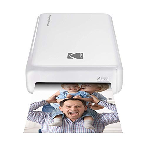 Kodak Mini 2 HD Wireless Portable Mobile Instant Photo Printer, Print Social Media Photos, Premium Quality Full Color Prints – Compatible w/iOS & Android Devices ()