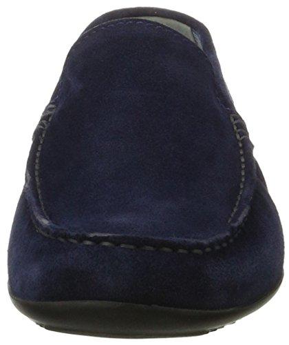 Sioux Herren Gianni-FS Slipper Blau (Atlantic)
