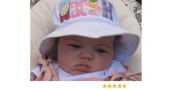 0301dccf75c Amazon.com   Personalized Baby Bucket Hat   Baby Keepsake Products   Baby