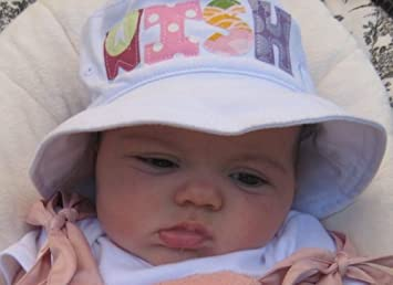 785fb41485665 Amazon.com   Personalized Baby Bucket Hat   Baby Keepsake Products   Baby