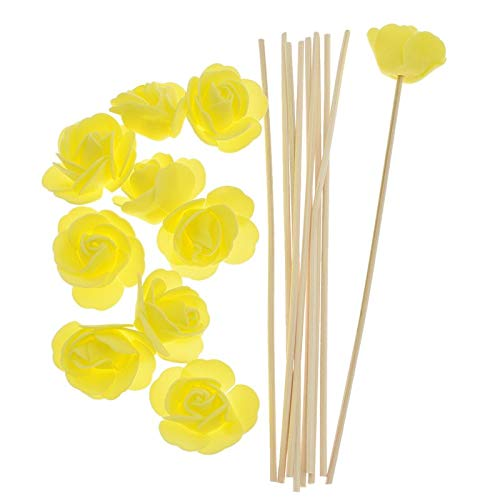 SeedWorld Reed Diffuser Sticks - 10pcs Artificial Flowers Fragrance Diffuser Replacement Sticks Rattan Refill for Incense Aromatherapy DIY Home Decoration 1 PCs by SeedWorld (Image #7)