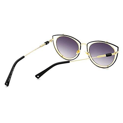 Outdoor Beach Femmes Lunettes pour Creux C5 Couleur Driving Peggy de C1 Design Gu Protection Les Eyes pour Cat UV Vacation Soleil xw6vST