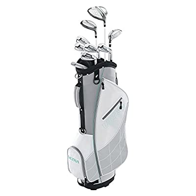 WILSON ULTRA Womens Complete Golf Club Set w/Bag