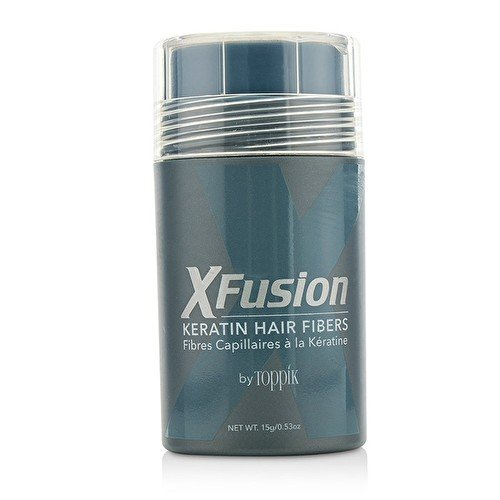 XFusion Regular Size Keratin Hair Fibers, Gray, 0.53 Ounce by XFusion