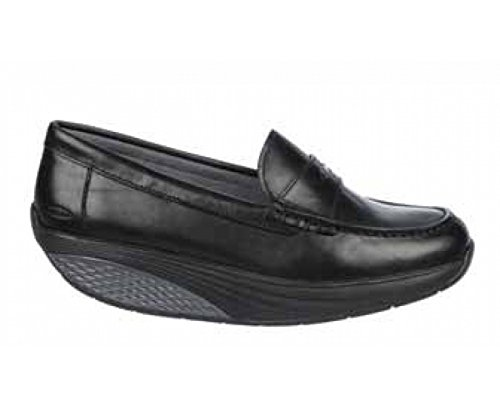 Para Mbt W Moc 03n Penny Mujer Negro Mocasines Kanoni 1qwzTfx7