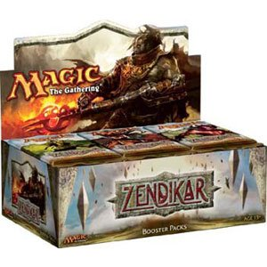 Magic-the-Gathering-Zendikar-Booster-Box-36-Packs-Brand-New-Factory-Sealed