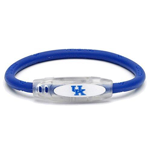 (NCAA Kentucky Wildcats Active Wristband, Blue, Small)