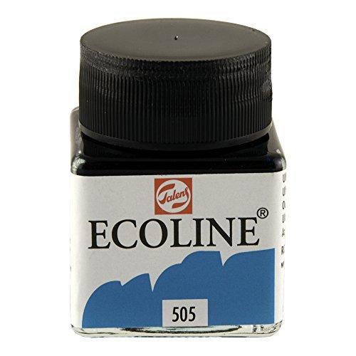 Royal Talens Ecoline Liquid Watercolor, 30ml Bottle, Ultramarine Light (11255050)