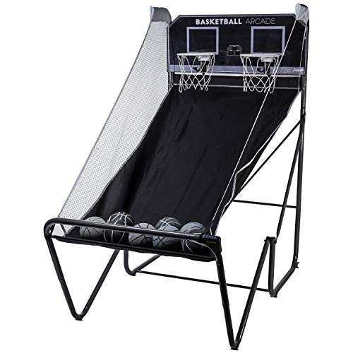Franklin Sports Basketball Arcade – Indoor Basketball Hoop Game – Basketball Arcade Game – Play Indoor Basketball Hoops Anytime, Anywhere – Basketball Games for All Ages -