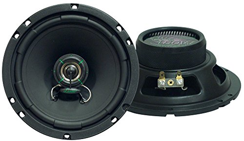 "Lanzar Upgraded VX 6.5"" Pair of 2 Way Car Speaker - Powerful 180 Watts 30 Oz Magnet Structure 4 Ohms 50 - 22KHz Frequency Response w/ 1"" High Temperature Voice Coil and Neodymium Dome Tweeter - VX620"