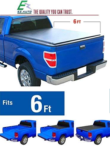 EZ Auto Low Profile Roll-Up Truck Bed Tonneau Cover Fits 2005-2018 Nissan Frontier   Fleetside 6