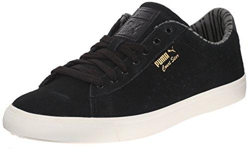 Puma Heren Court Star Vulc Citi Series Fashion Sneakers Zwart