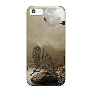 Excellent Iphone 5c Case Tpu Cover Back Skin Protector Mysterious Castle