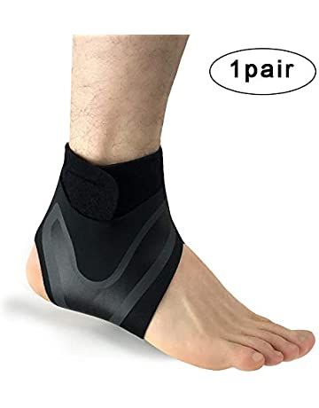 c7bf95a240 SITAKE 1 Pair Adjustable Elastic Ankle Support for Men and Women - Ankle  Brace for Arthritis
