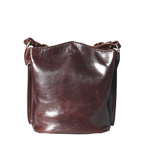 Dark Chocolate Scott Purse Cross Body Luxury Leather Maxwell Palermo 80dq7wx