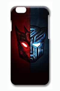 iPhone 6 Case, 6 Case - Protective Ultra Thin Case for iPhone 6 with Transformers Red And Blue 3D Print Pattern Slim Fit Hard Back Cover Case for iPhone 6 4.7 Inches