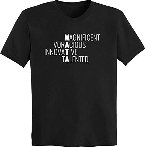 (BuffThreads MATA Acrostic Poem T-Shirt Black)