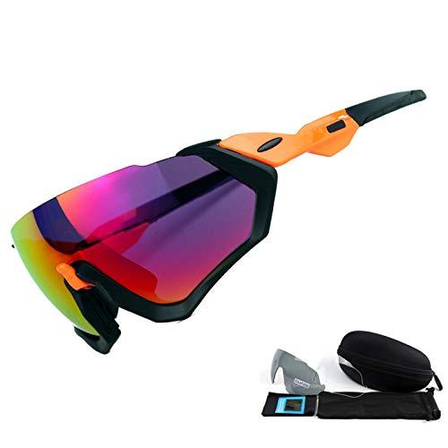 air UV400 Protection Mjia Plein Miroir pour de Coupe de Homme 1 polarisées Lunettes Vent Black de box pêche Soleil Sport de sunglasses Sports Lunettes Plage de pB7pTO