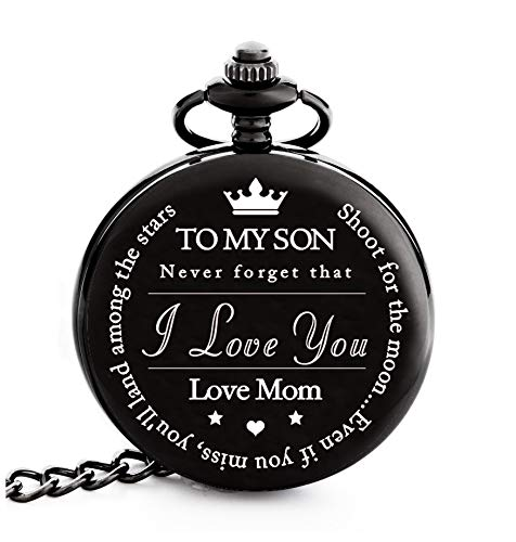 To My Son | Mother and Son Graduation 2019 Gift - Engraved