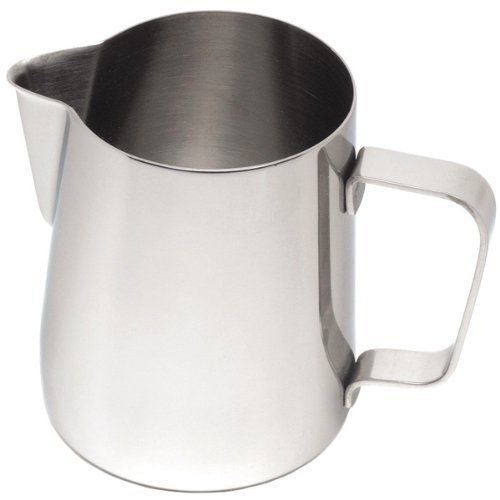 Frothing Jug 12oz / 330ml | Stainless Steel Frothing Jug, Cappuccino Milk Jug by Non Consumables Buckigham