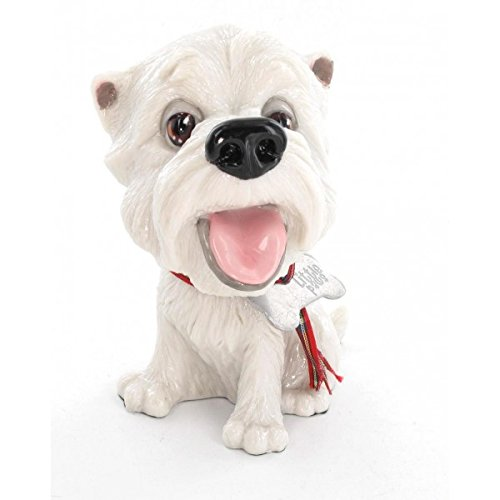 - Pets with Personality Little Paws *Fergus* Westhighland Terrier (Westie) Dog Figurine