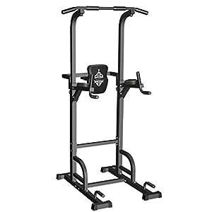 Sportsroyals Power Tower Barre de Traction pour Musculation à Domicile, 200 kg Power Tower Barre de Traction pour…